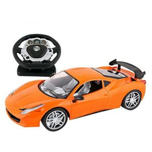 Well Play High Speed Car with Steering Wheel Remote Control