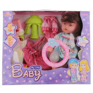 Well Play My little Baby Doll Feeding Set