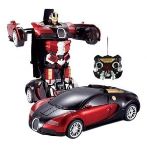 Well Play Remote Control Transforming Car