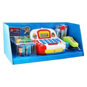 Well Play Supermarket Pretend Cash Register Toy