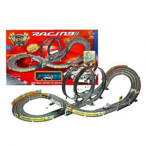 Well Play Victor Double Rail & Double Loop Roller Racing Toy