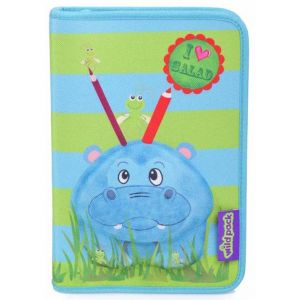 Okiedog Wildpack Pencil Case - Pippa Hippo