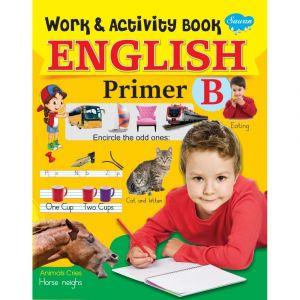 Sawan English Work & Activity Book - Primer - B