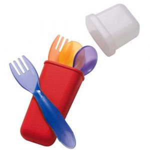 The First Years Take & Toss - Toddler Flatware Travel Set with bonus knife