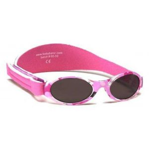 Baby Banz Adventure Sunglasses - Pink Camo