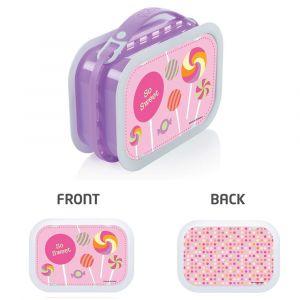 Yubo Candy Lavender Lunch Box