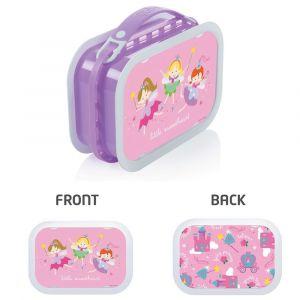 Yubo Fairy Princess Lavender Lunch Box