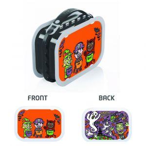 Yubo Halloween Tot Grey Lunch Box
