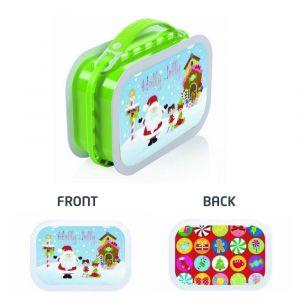 Yubo Holly Jolly Green Lunch Box
