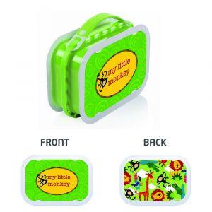 Yubo Jungle Fun Green Lunch Box