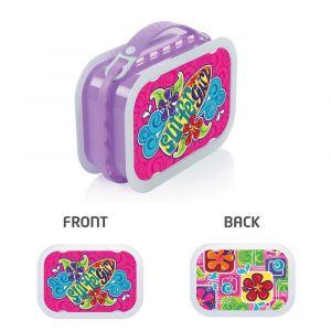 Yubo Surfer Girl Lavender Lunch Box