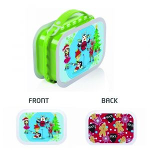 Yubo X'mas Rock Green Lunch Box
