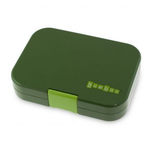 Yumbox Green Brooklyn 4 Compartments Lunch Box