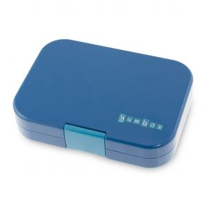 Yumbox Blue Empire 4 Compartments Lunch Box