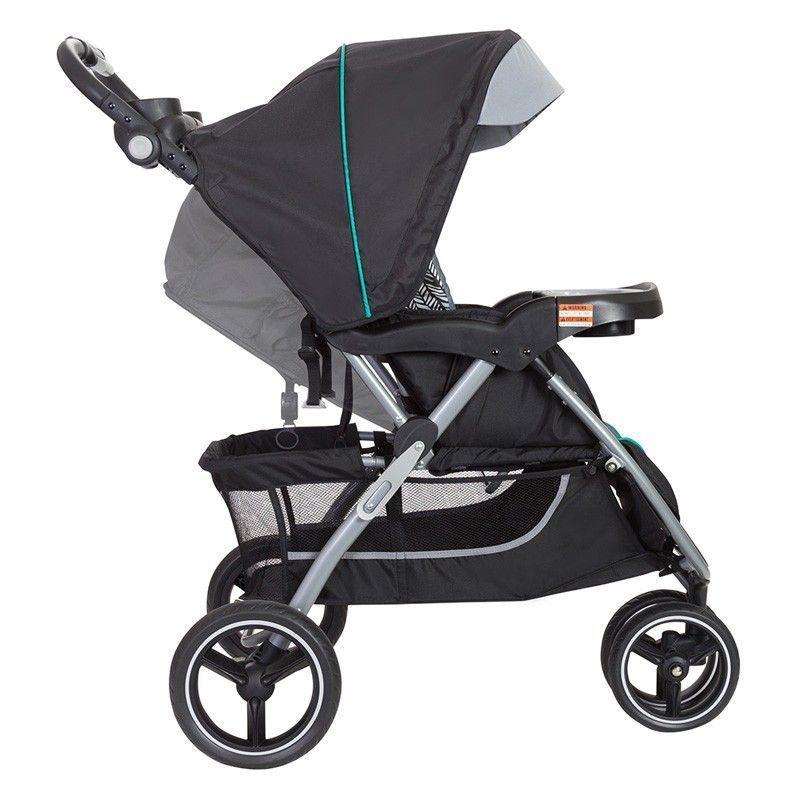 Baby Trend Black Grey Skyview Plus Stroller Carseat Travel