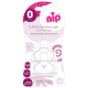 Nip Orthodontic Wide-Neck, Medium Flow, Silicone Teat - 0M+ , 2pcs