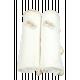 Bebitza Antibacterial Baby Wraps - Cream 2pcs