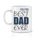 Twinkle Hands Happy Birthday Mug - Best Dad Ever