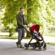 Chicco Fully Single Convertible 2-in-1 Stroller 0m-3y, Red Passion