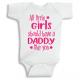 Twinkle Hands Daddy like you Baby Onesie, Bodysuit, Romper