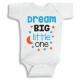 Twinkle Hands Dream big little one Baby Onesie, Bodysuit, Romper