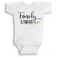 Twinkle Hands Family is forever Baby Onesie, Bodysuit, Romper