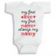 Twinkle Hands First love first hero daddy Baby Onesie, Bodysuit, Romper