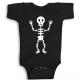 Twinkle Hands Halloween Baby Black Onesie, Bodysuit, Romper