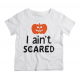 Twinkle Hands - I Ain't Scared Halloween T-shirt - White
