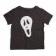 Twinkle Hands - Ghost Scream Face - Halloween T-shirt - Black