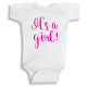 Twinkle Hands It's a girl baby shower Baby Onesie