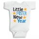 Twinkle Hands Little Mister New Year Baby Onesie, Bodysuit, Romper