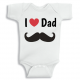 Twinkle Hands So glad you are my daddy Baby Onesie, Bodysuit, Romper