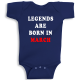 Twinkle Hands Legends Are Born In March Baby Onesie