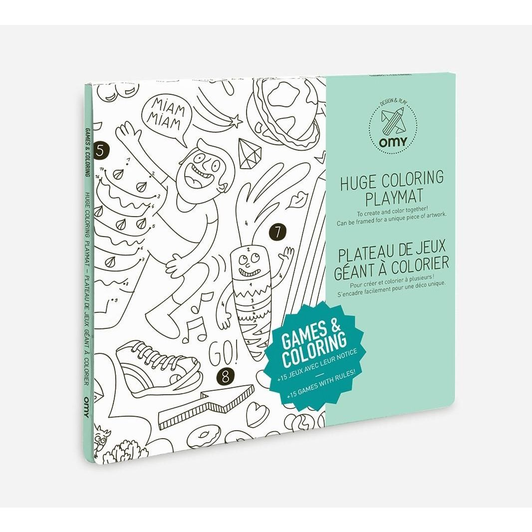 OMY Game Giant Coloring Posters