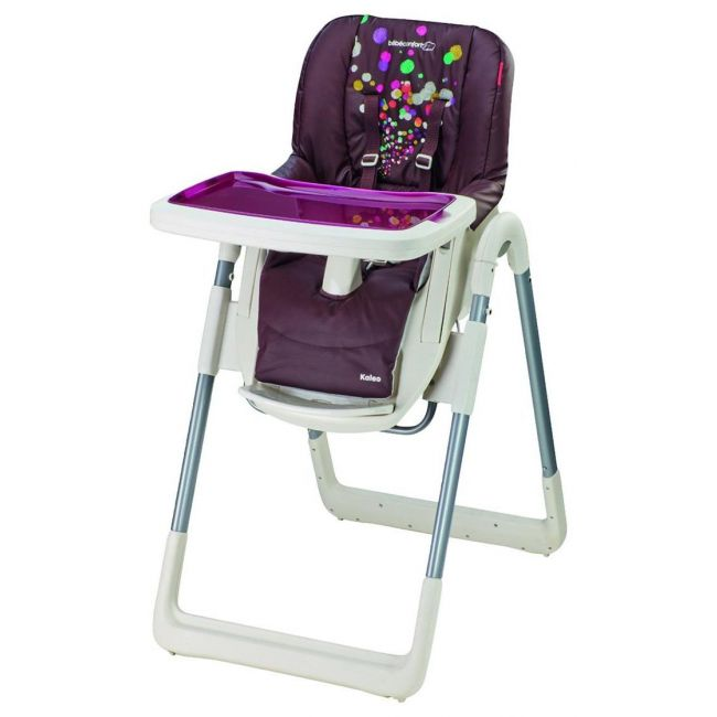 Bebe Confort Purple Kaleo High Chair - Hot Chocolate