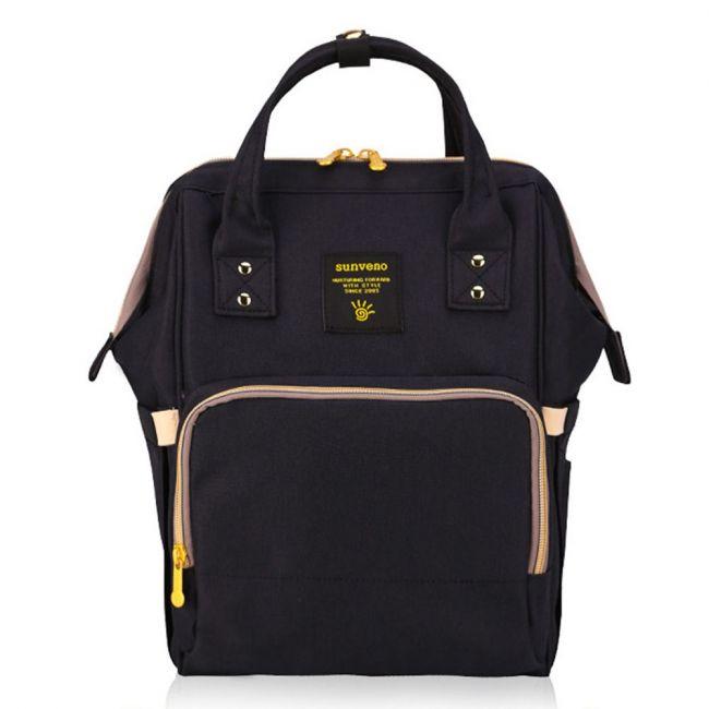 Sunveno - Diaper Bag - Black