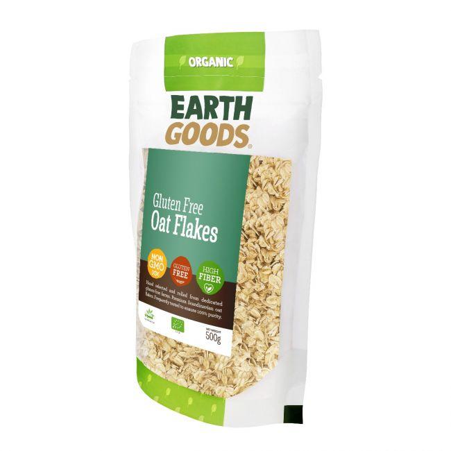 Earth Goods - Organic Oat Flakes - 500g