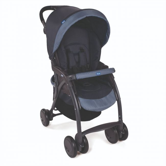 Chicco Simplicity Complete Stroller 0m+ Blue,  India Ink