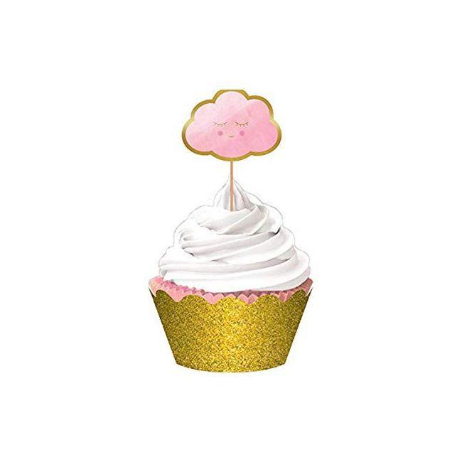 Oh Baby Girl - Hot Stamped Cupcake Kit