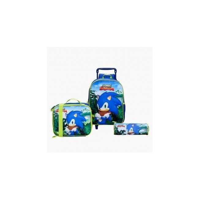 Disney Sonic Boom Printed 3-Piece Bag Set