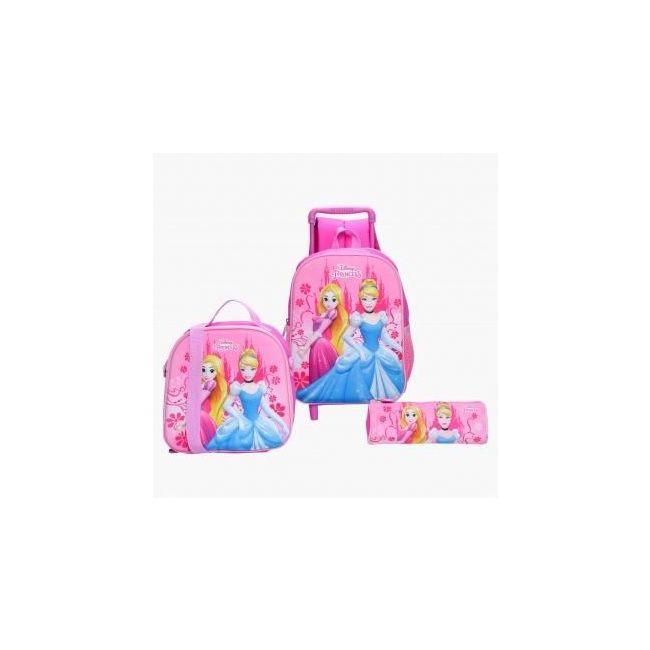 Disney Princess Print 3-Piece Backpack Set
