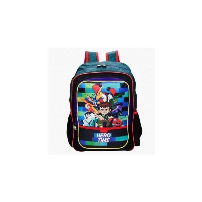 Disney Ben 10 Printed Trolley Backpack with Zip Closure