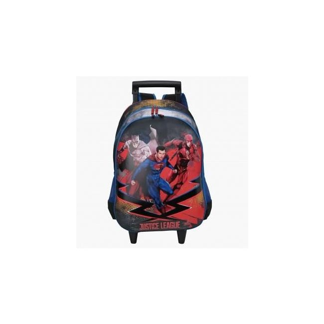 Disney Justice League Printed Trolley with Zip Closure