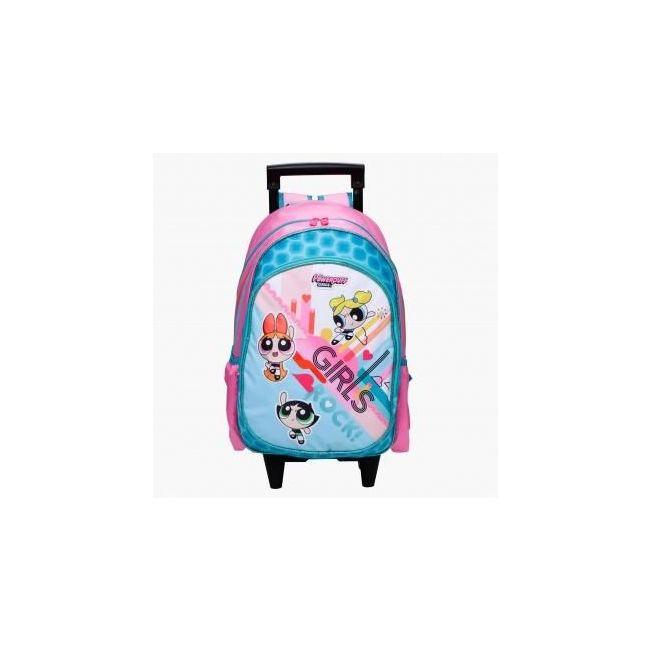 Powerpuff Girls Printed Trolley Backpack