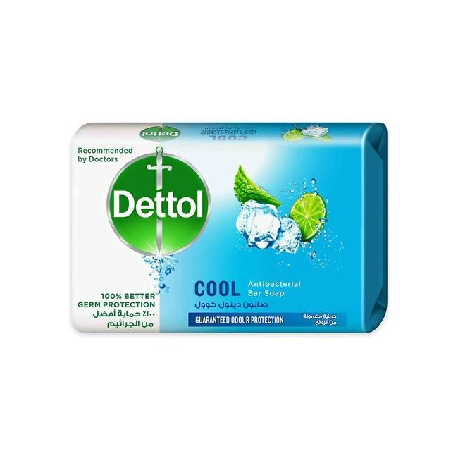 Dettol - Anti-Bacterial Bar Soap Cool 165g