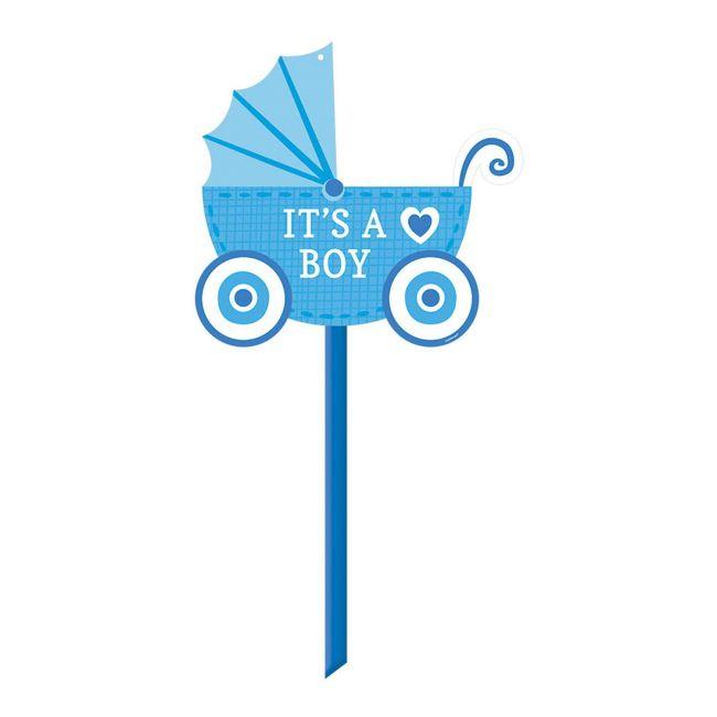 Oh Baby Boy - Baby Boy Generic Yard Sign
