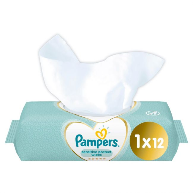 Pampers - Sensitive Baby Wipes - 12 Count
