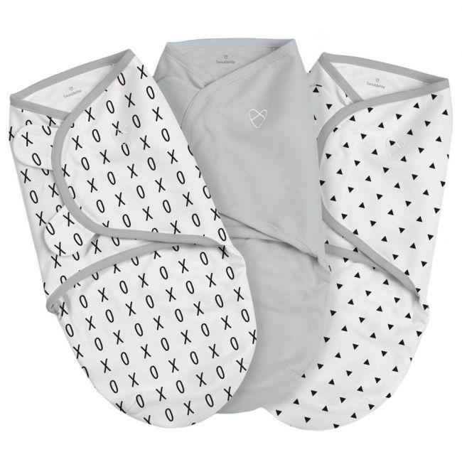 Summer Infant - Swaddle Me Original Xo Pack of 3 - Grey