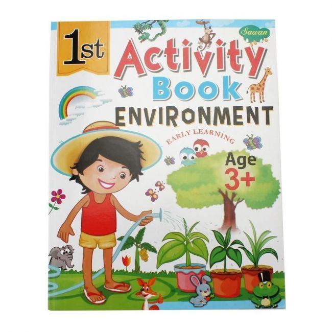 Sawan 1st Activity Book Environment 3+ - Children's Book
